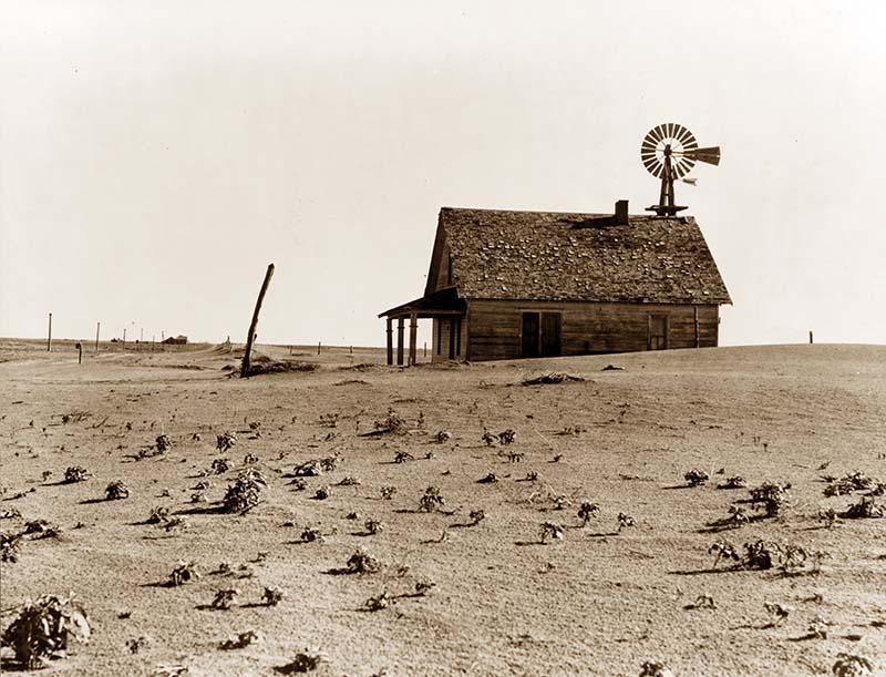 Заброшенная ферма