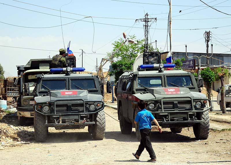 Военная полиция МО России в Сирии