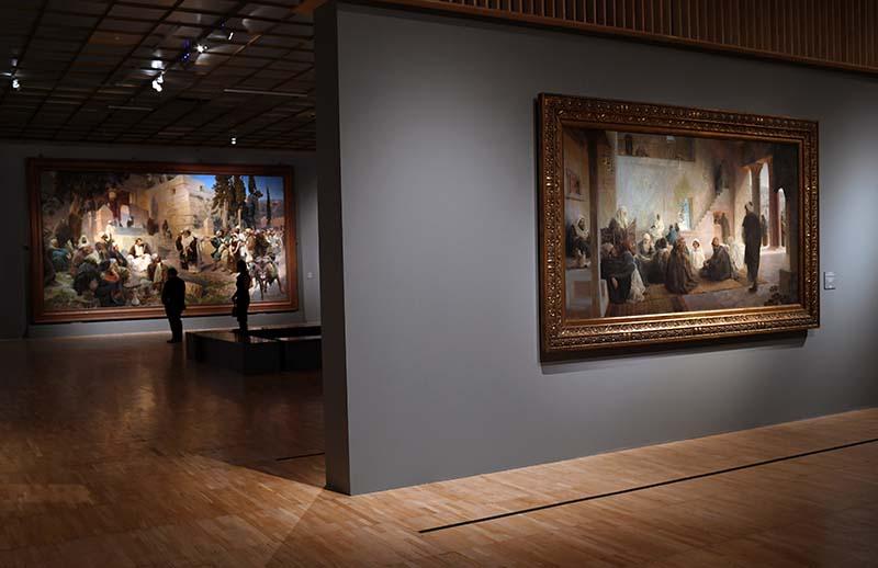 Выставка Василия Поленова, приуроченная к 175-летию художника, в Третьяковской галерее на Крымском валу