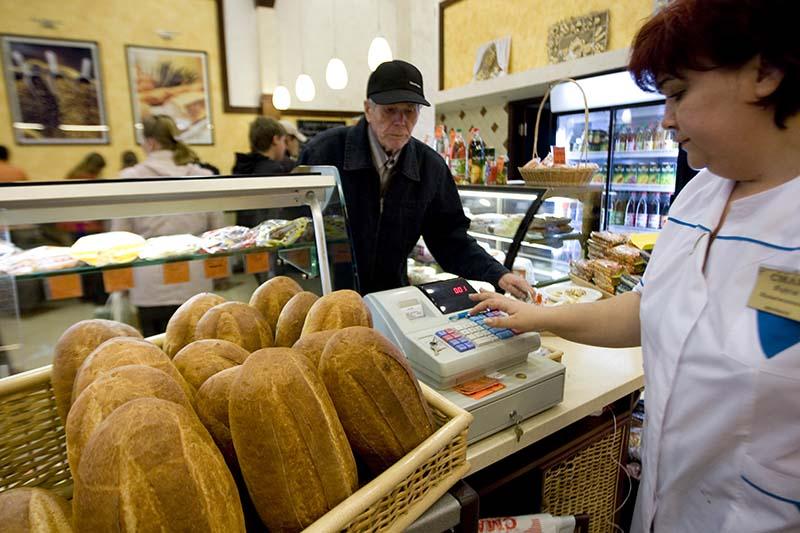 Продажа хлеба