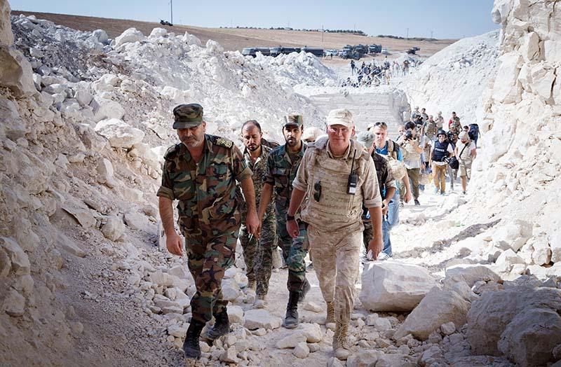 Российские и сирийские военные