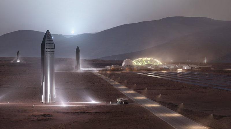 Колония на Марсе