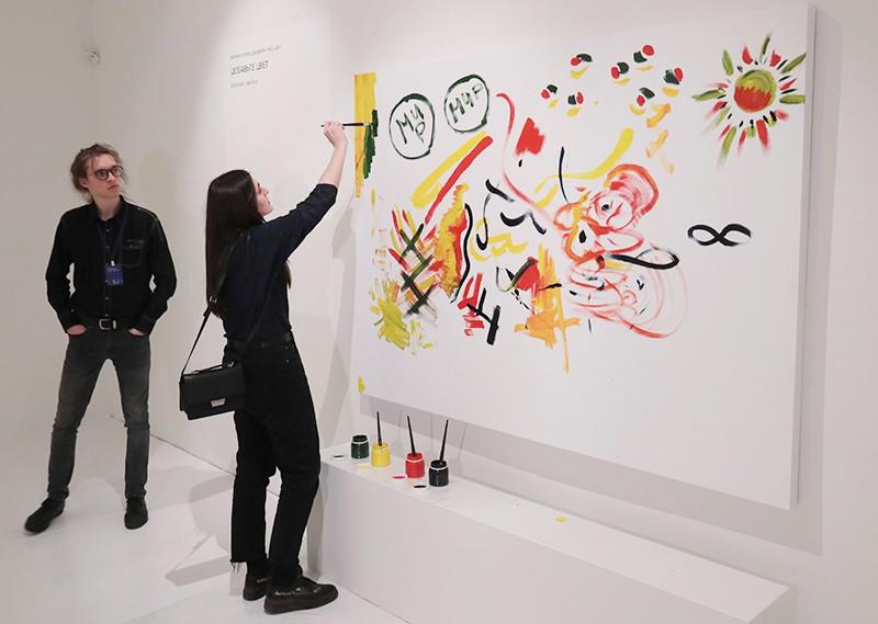 Выставка Йоко Оно в Москве