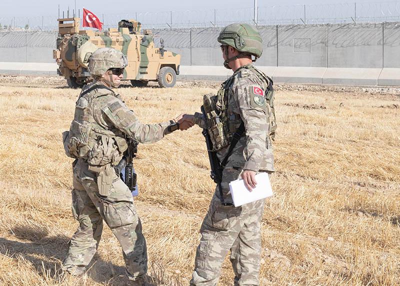 Военные Турции и США