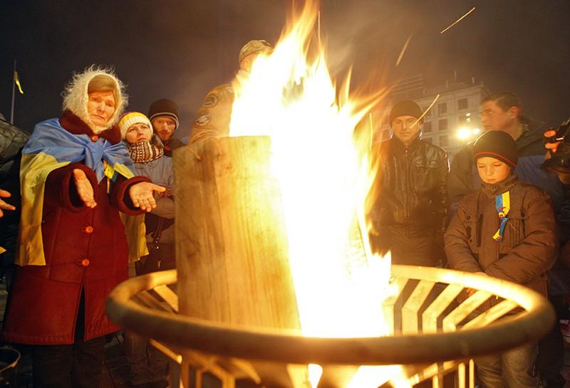 Жители Украине