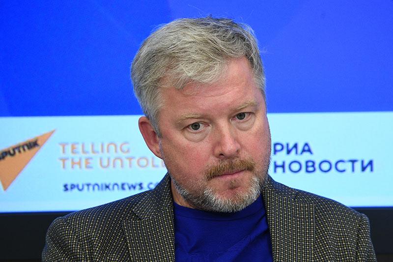 Телеведущий Валдис Пельш