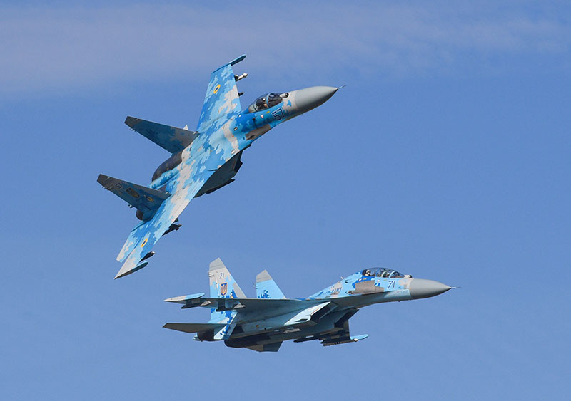 Истребители ВВС Украины