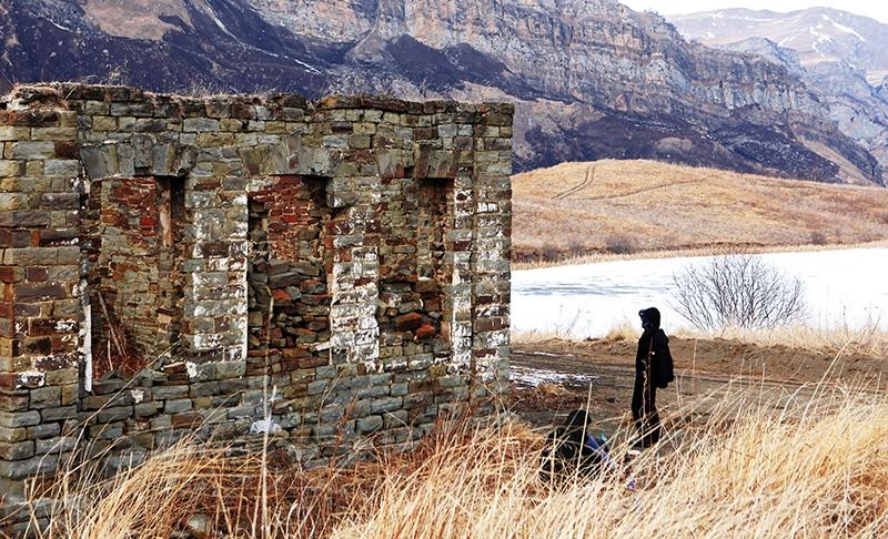 Развалины древнего поселения