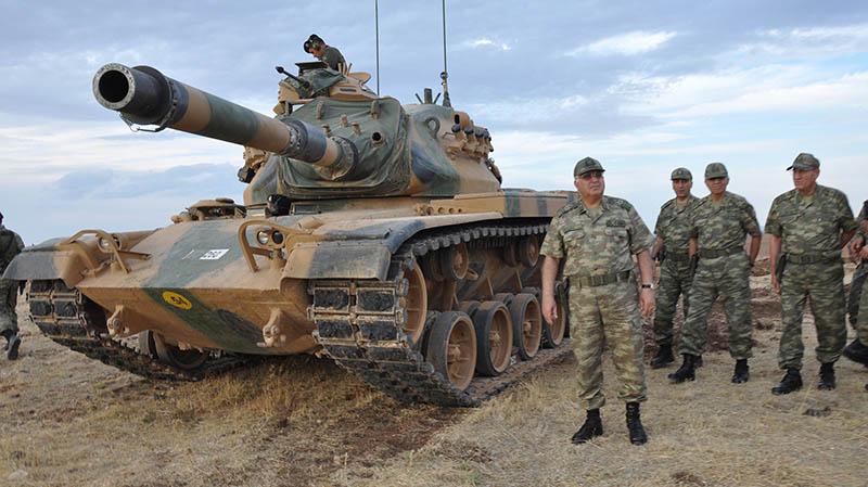 Турецкие войска в Сирии