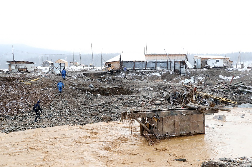Последствия прорыва дамбы на реке Сейба