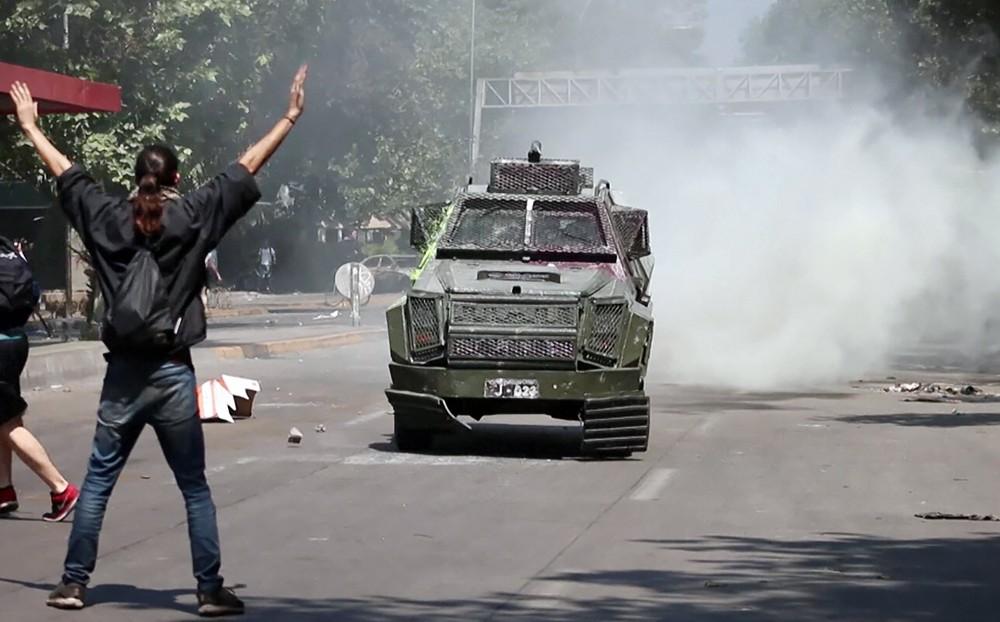 Беспорядки в Чили