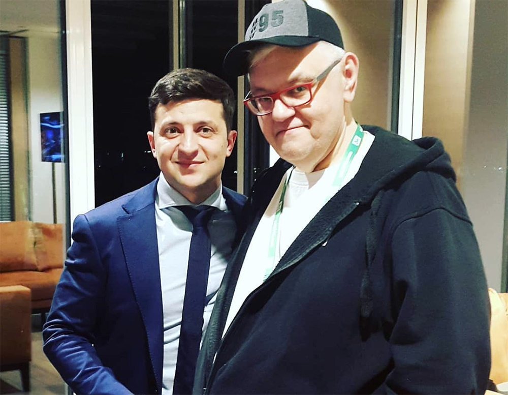 Владимир Зеленский и Сергей Сивохо