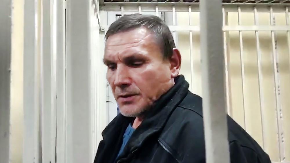 """Начальник участка компании """"Сисим"""" Андрей Еганов, на предприятии которой произошёл прорыв дамб"""