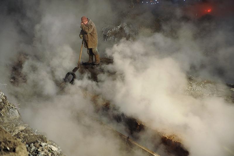 Прорыв теплотрассы в Хабаровске