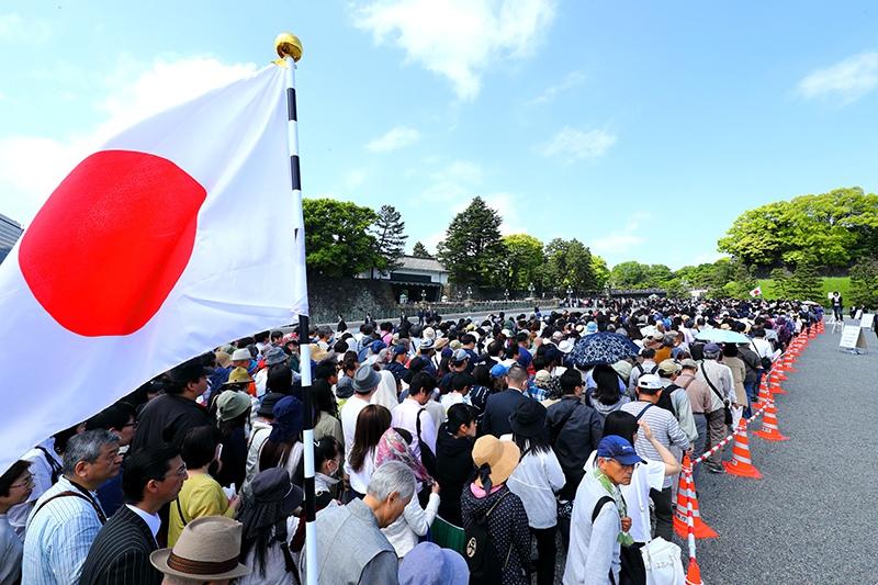 Провозглашения нового императора Японии