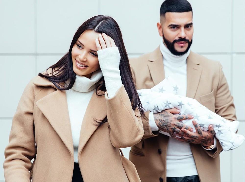 Тимати и Анастасия Решетова с новорожденным