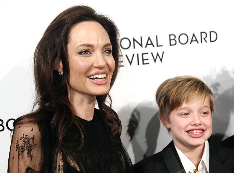 Анджелина Джоли с дочерью Шайло