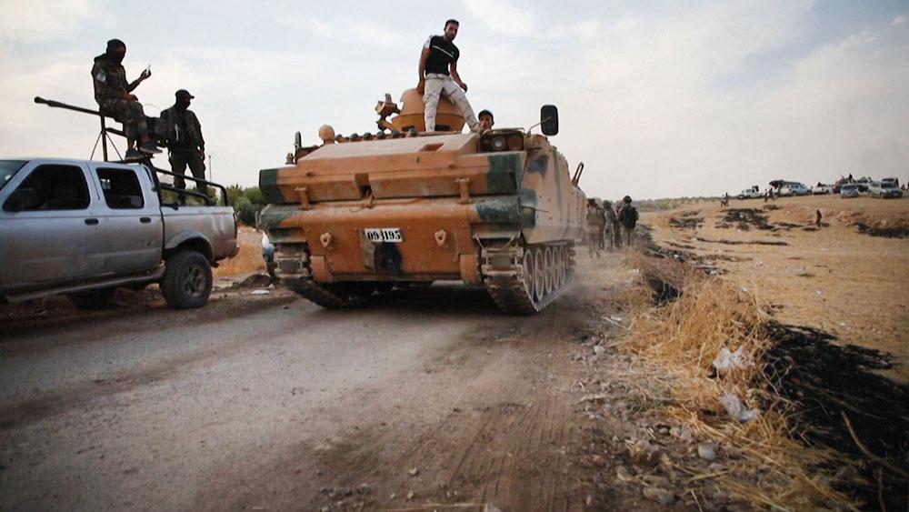 Военная техника в Сирии
