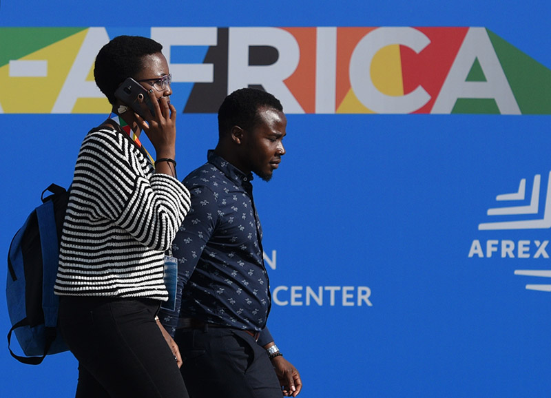 """Участники экономического форума """"Россия - Африка"""" в Сочи"""
