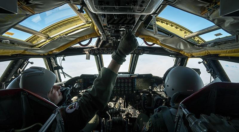 Кабина бомбардировщика B-52