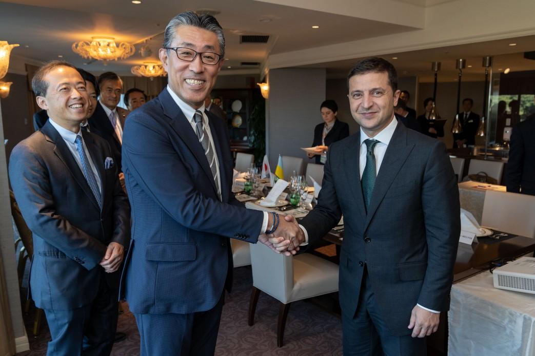 Рабочий визит Владимира Зеленского в Японию