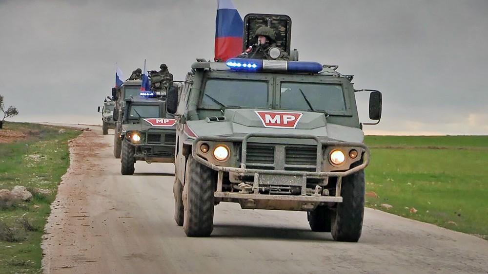 Военная полиция России (MP) в Сирии