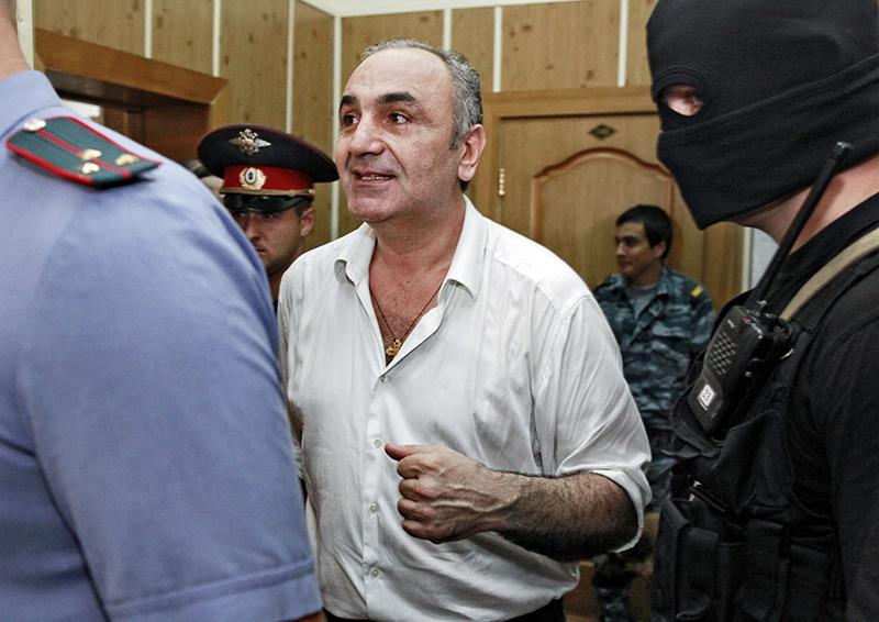 Тариэл Мулухов (Ониани) в суде