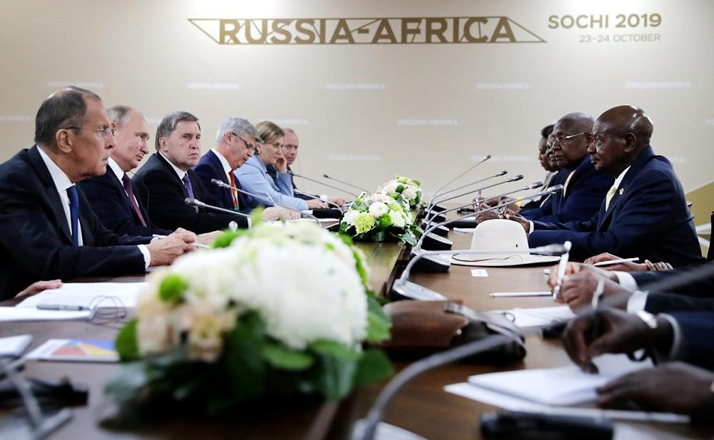 Путин: Африка становится одним из центров роста мировой экономики