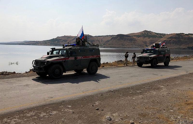 Бронеавтомобили патрульной службы военной полиции