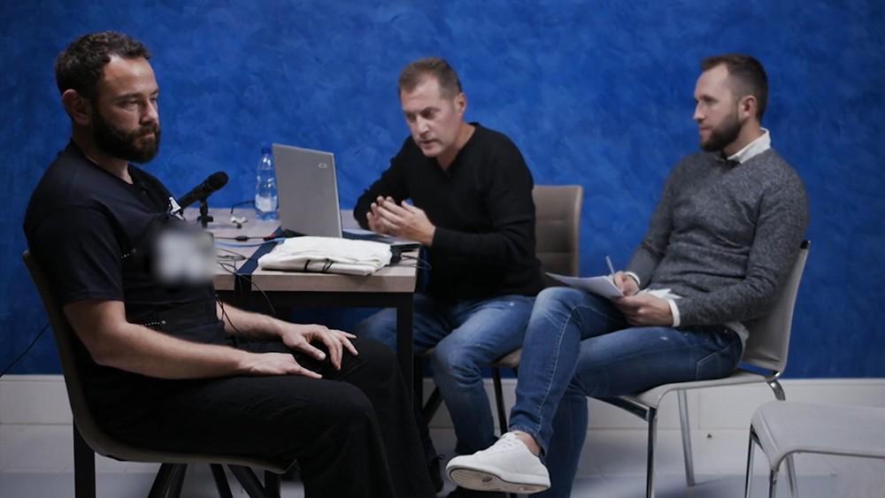 Александр Дубинский проходит проверку на детекторе лжи