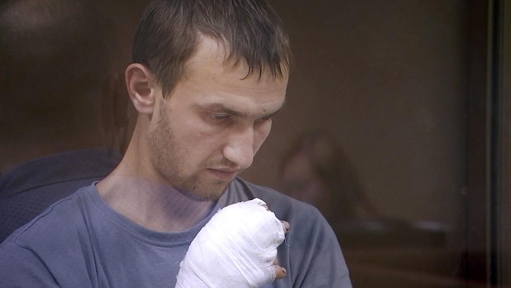 Сергей Сазонов в суде