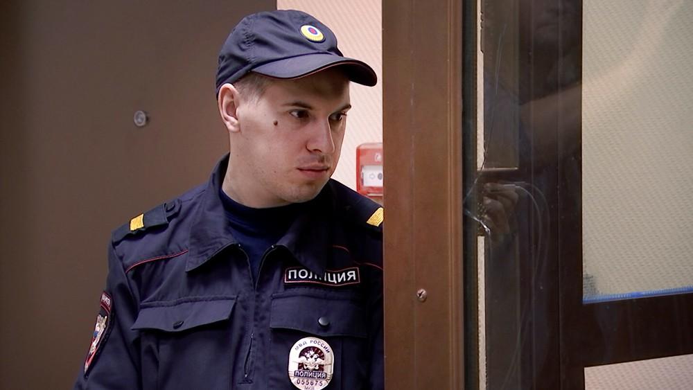 Полицейский в суде
