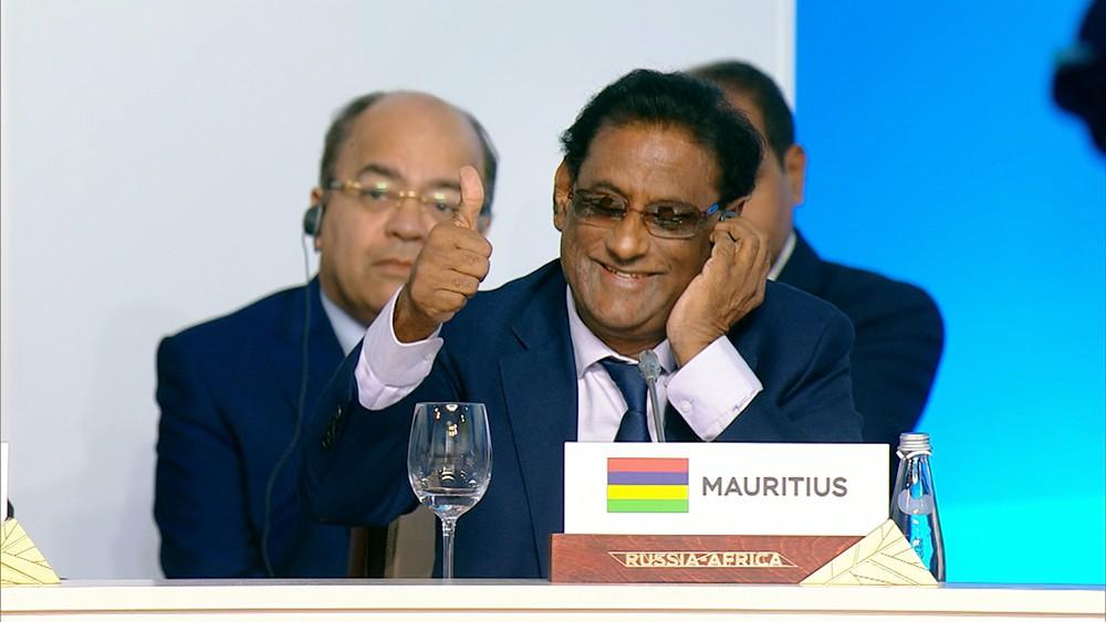 Президент Маврикия Парамасивум Пиллай Вьяпури