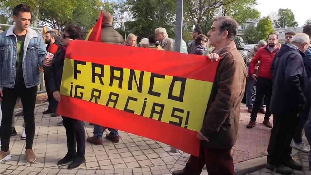 Противники эксгумации Франсиско Франко