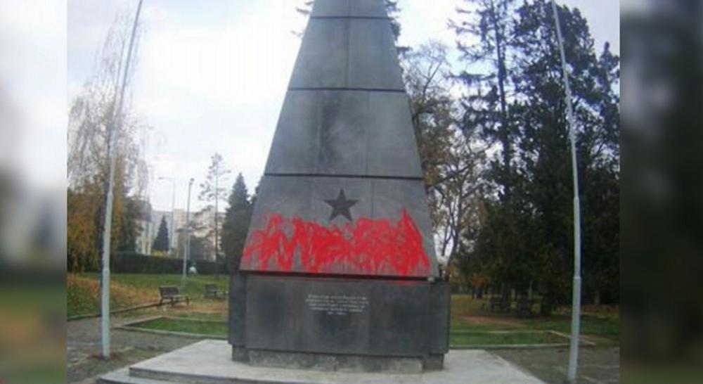 В Чехии осквернили памятник солдатам Красной Армии