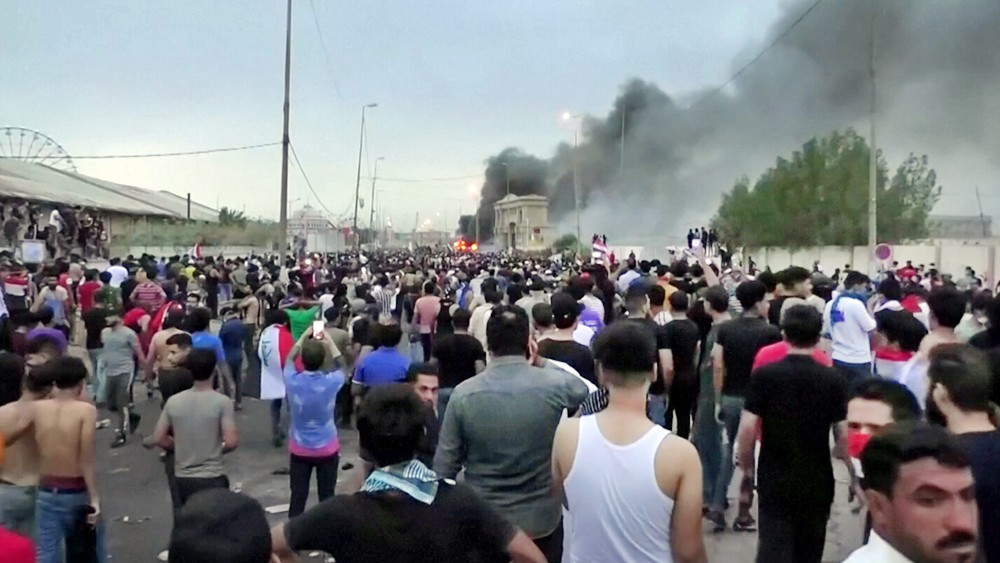 Уличные протесты в Ираке