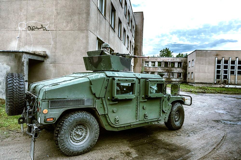 Военная техника сил НАТО