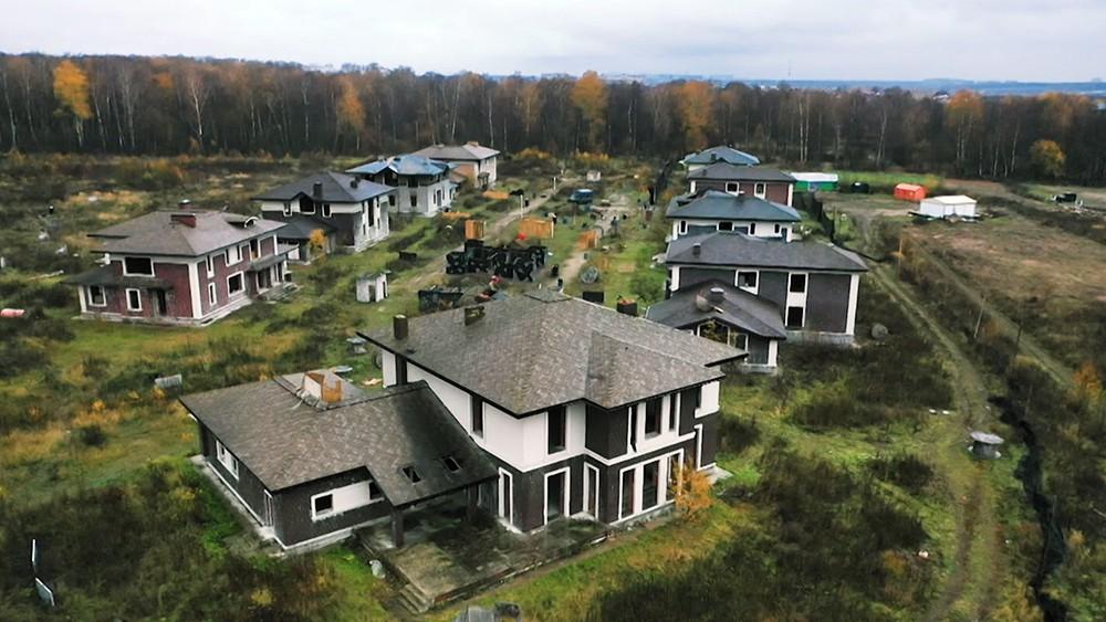 Заброшенный коттеджный поселок