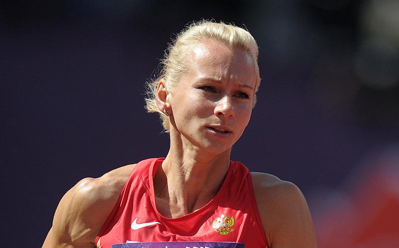 Российская спортсменка Юлия Гущина