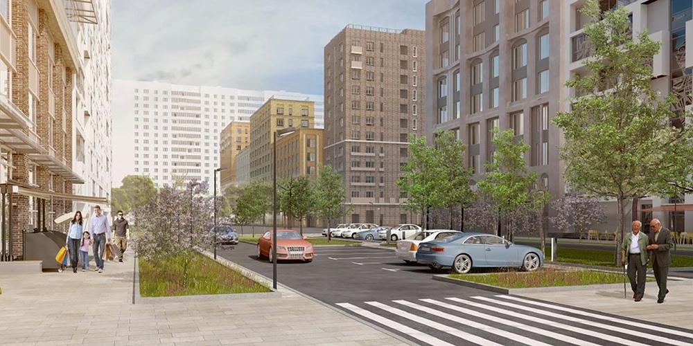 Проект планировки квартала по программе реновации