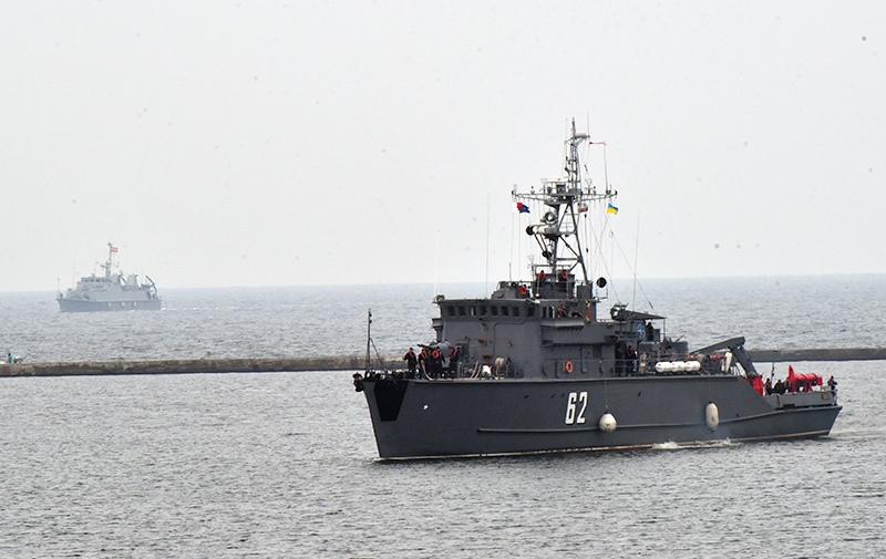 Противоминный корабль НАТО BGS Shkval