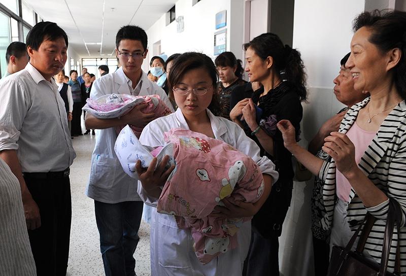 Роддом в Китае
