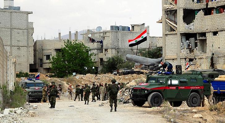Подразделение военной полиции в Сирии