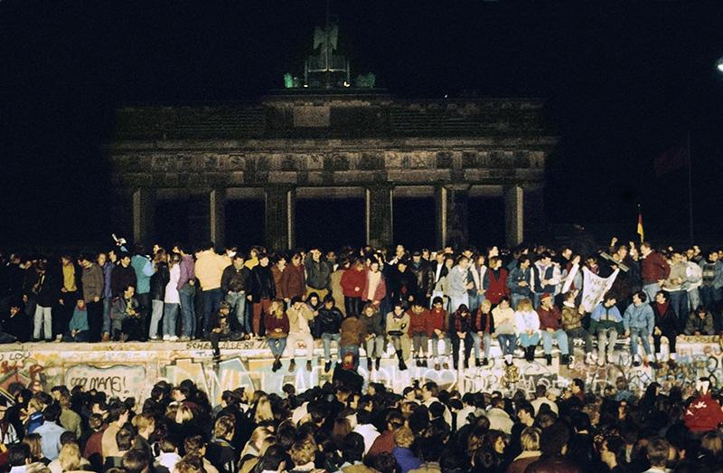 Падение Берлинской стены. Ноябрь 1989 год