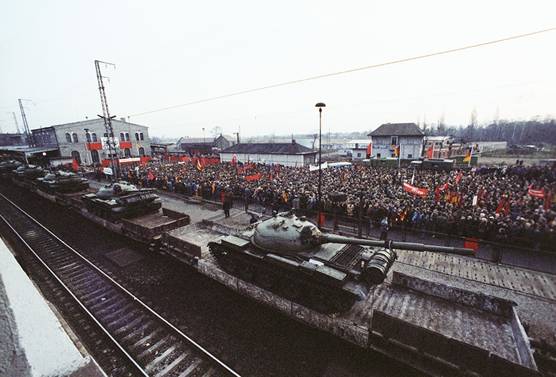 Вывод Советских войск с территории ГДР