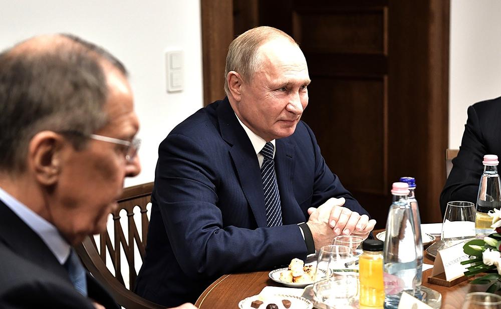 Рабочая поездка Владимира Путина в Венгрию