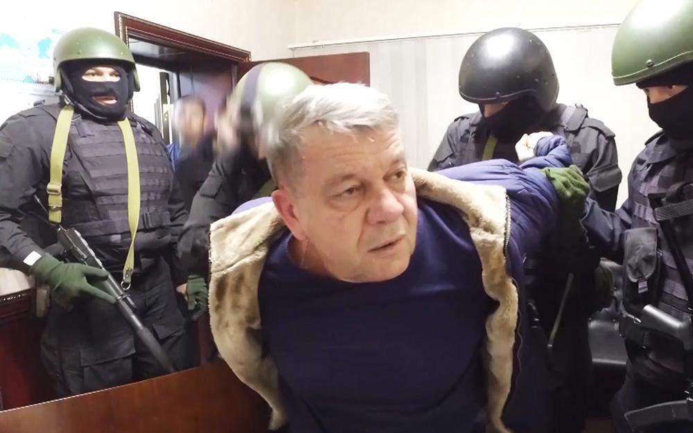 Видео задержания отставного генерала МВД за подготовку убийства