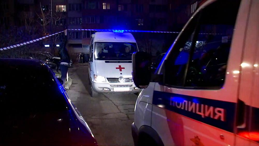 Экстренные службы на месте убийства в Москве