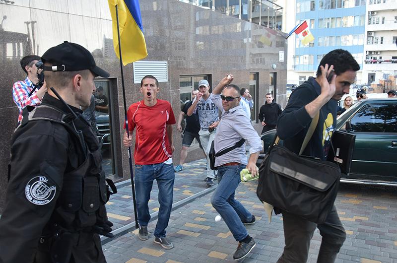 Радикалы в Одессе