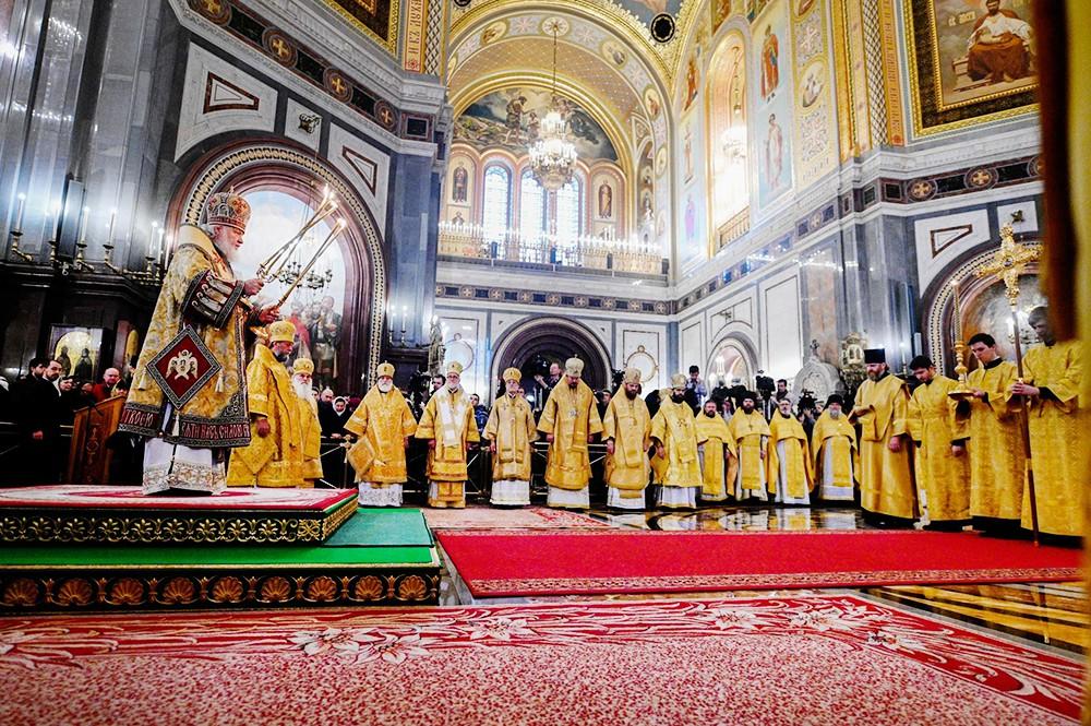 Торжества по случаю присоединения Архиепископии западноевропейских приходов русской традиции к Русской Православной Церкви